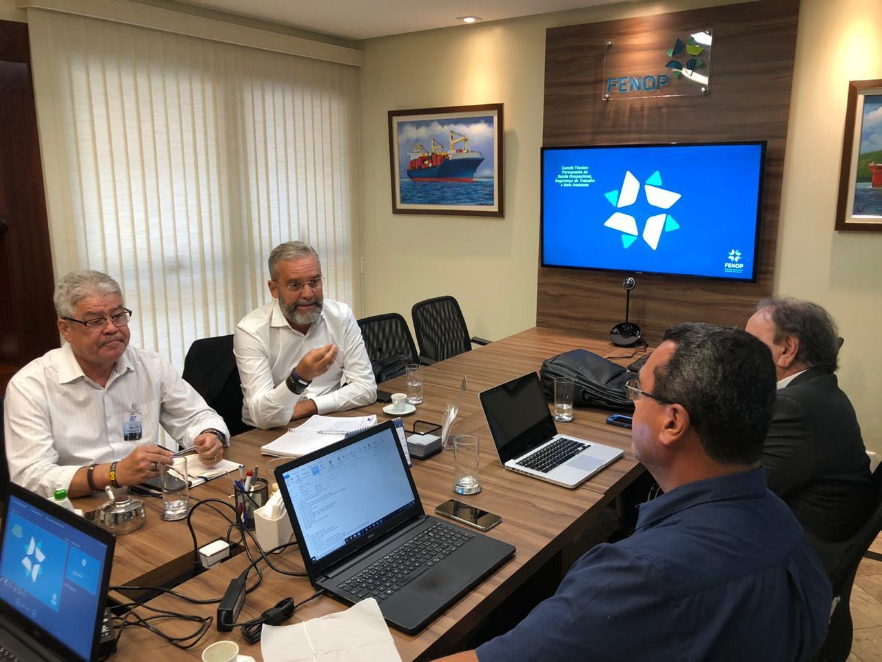 Fenop-realiza-reunião-Bipartite-para-discussão-da-revisão-da-Norma-Regulamentadora-29-2