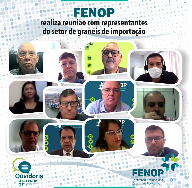 Programa OUVIDORIA FENOP realiza 1º reunião com representantes do setor de granéis de importação